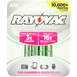 Rayovac Platinum AAA Rechargeable Batteries - 4 Pack
