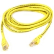Belkin 100' CAT5e (350 MHz) UTP Network Cable - Yellow