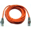 12' Cross-Wired CAT5e (350MHz) UTP Ethernet Network Cable - Orange