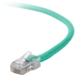 Belkin 1' CAT5e (350 MHz) UTP Network Cable - Green