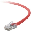 7' Cross-Wired CAT5e (350MHz) UTP Ethernet Network Cable - Red