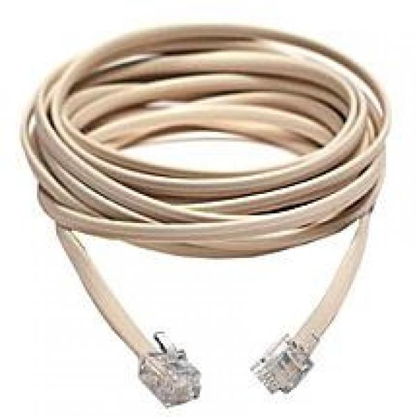 25' M/M RJ11 Data Communications Cable - Click Image to Close