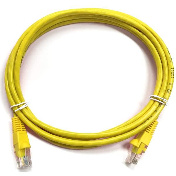1.5' CAT6 (550MHz) UTP Network Cable - Yellow