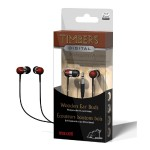 "Maxell ""Timbers"" Digital Wooden Ear Buds"