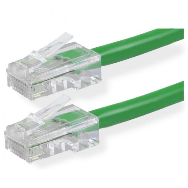 0.5' CAT5e UTP Network Cable - Economy - Green