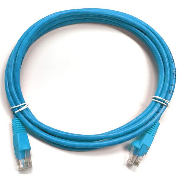 0.5' CAT6 (550 MHz) UTP Network Cable - Light Blue